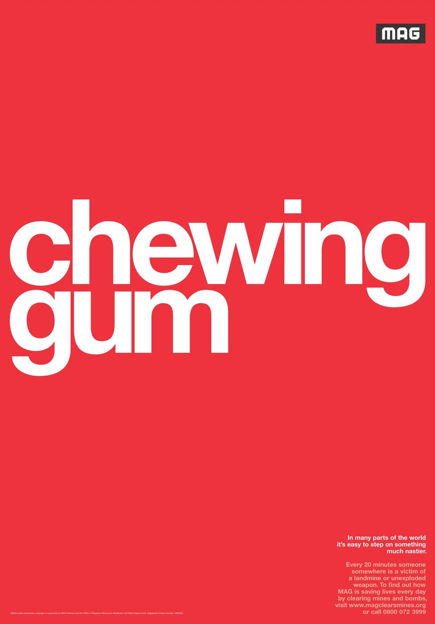 Dog Poo / Chewing Gum / Banana Skin