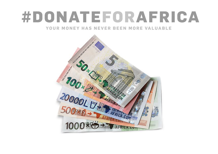 Donate for Africa. Your money has never been more valuable.