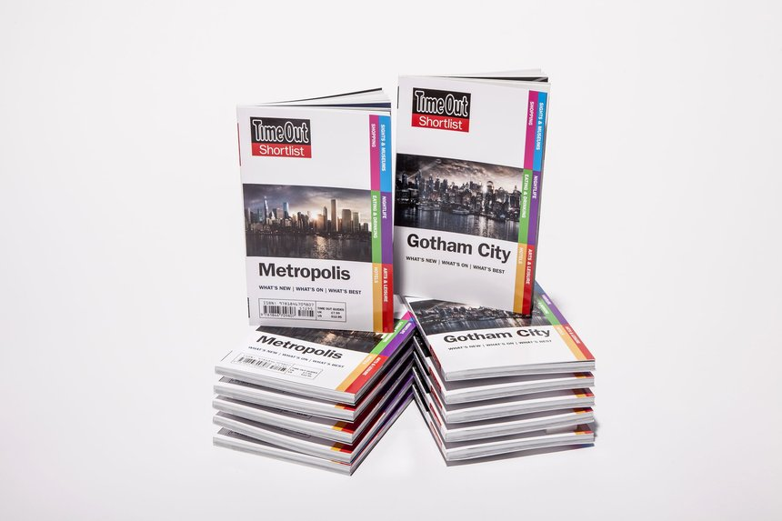 Gotham and Metropolis Time Out travel guide