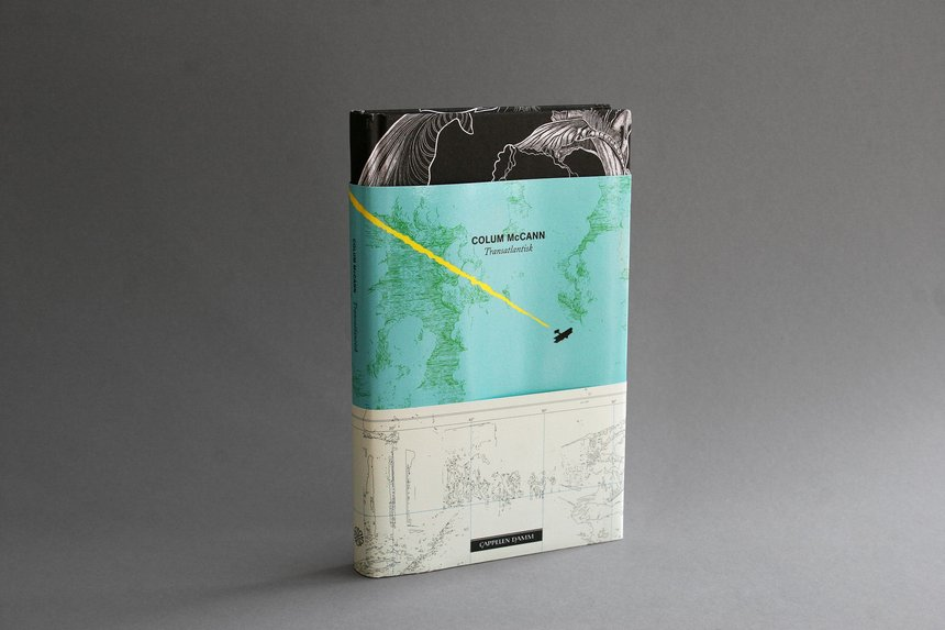 Transatlantic Colum McCann Ten Examples of Novel Book Design