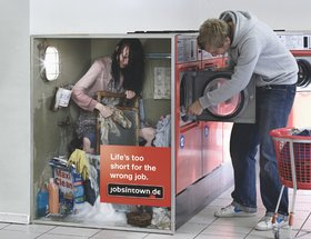 The Wrong Working Environment Campaign - Washing Machine / Petrol Pump / Cigarette Automat