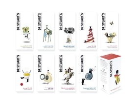 Dr Stuart's Extraordinarily Good Teas Packaging Campaign