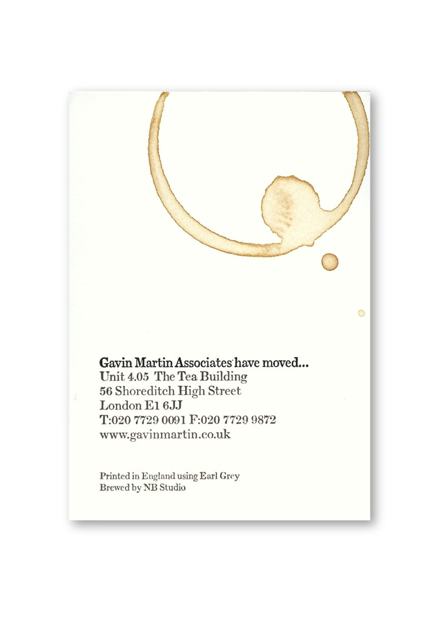 Gavin Martin Associates Moving Card
