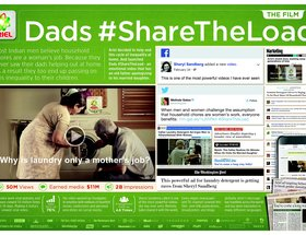 Dads #ShareTheLoad (Integrated Case)