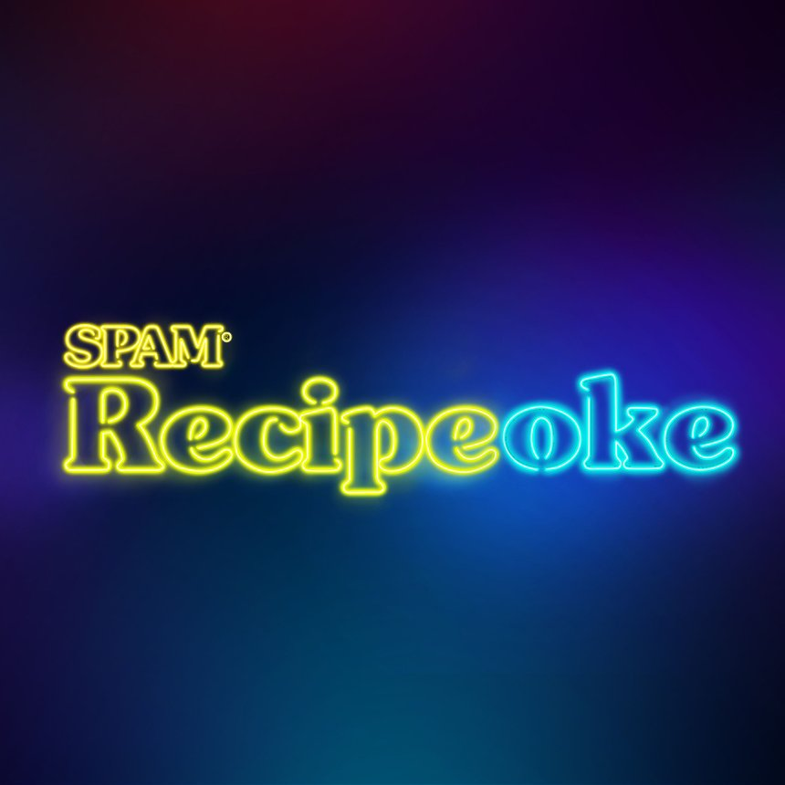 SPAM Recipeoke