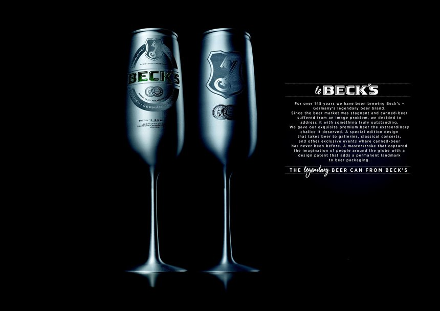 Le Beck's – The Legendary Beer Can