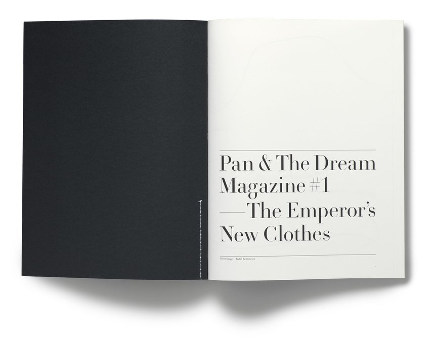 Pan & The Dream Magazine #1, The Emperor's New Clothes