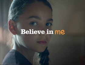 Barnardo's 'Believe in Me - Gymnast'
