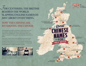 Great Chinese Names for Great Britain
