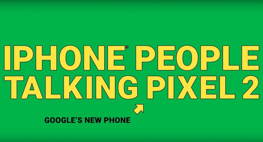 iPhone People Talking Pixel 2