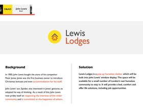 Lewis Lodges
