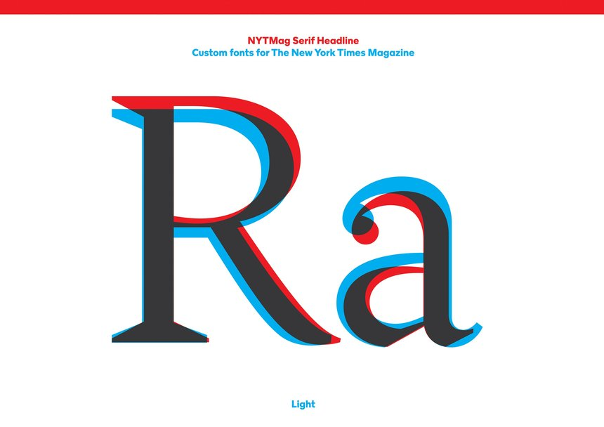 NYT Magazine Typefaces | A2-TYPE | New York Times Magazine | D&AD ...
