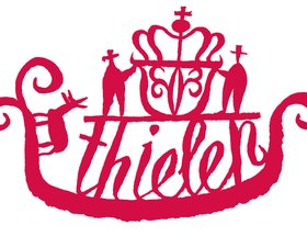 Thielen logo / Thielen bottle / Thielen cards / Thielen website / Thielen letterhead