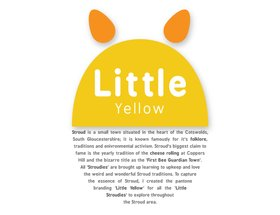 Little Yellow Pantone Branding