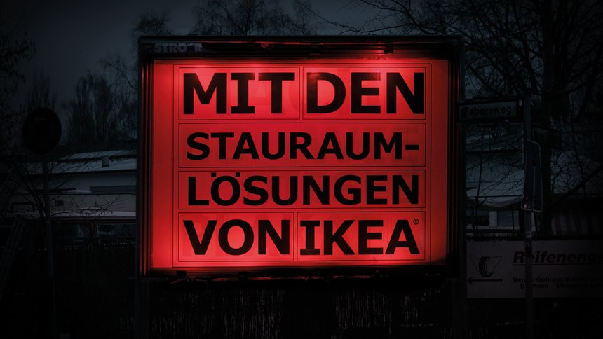 The IKEA RGB Billboard