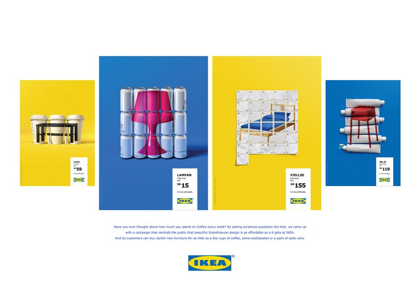 Ikea it 39 s that affordable memac ogilvy ikea d ad for Poster ikea