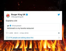 How Burger King flame grilled Kanye West and created the most-liked tweet by a brand of all time.