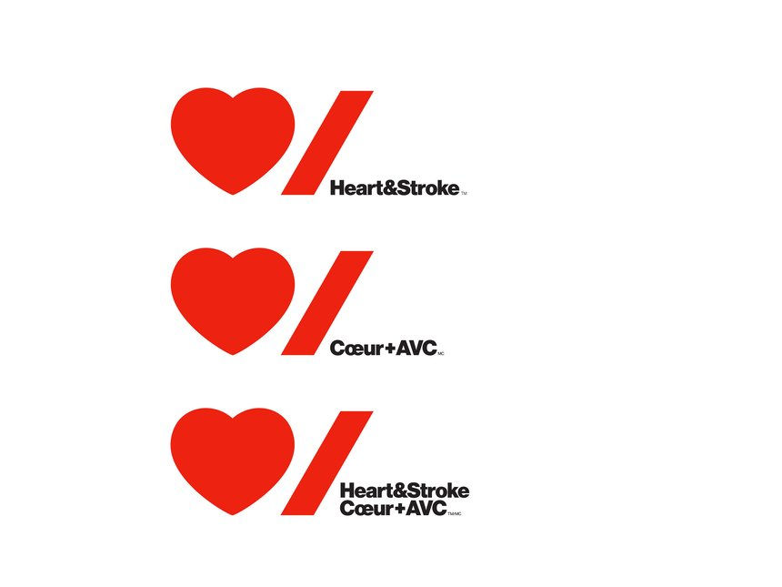 Heart & Stroke Foundation Identity Redesign