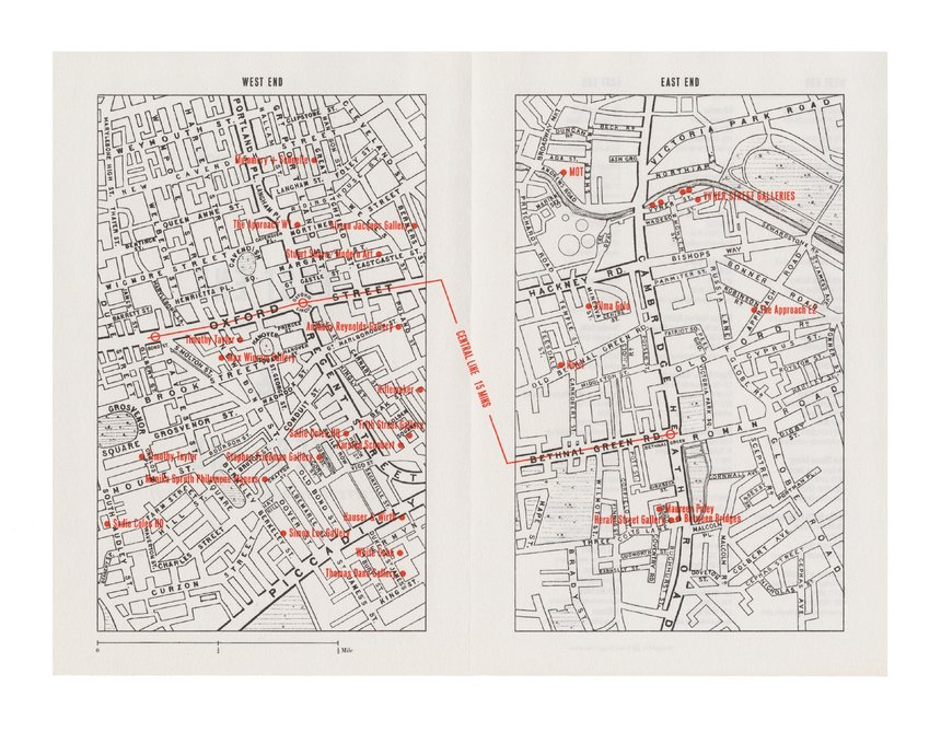 A Map of London Art Galleries