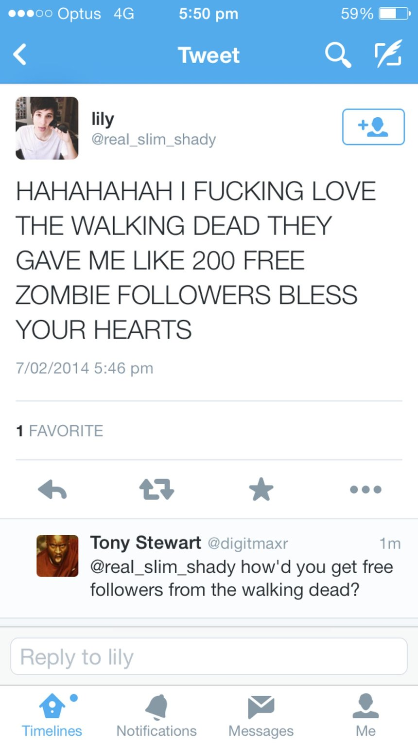 Zombie Followers