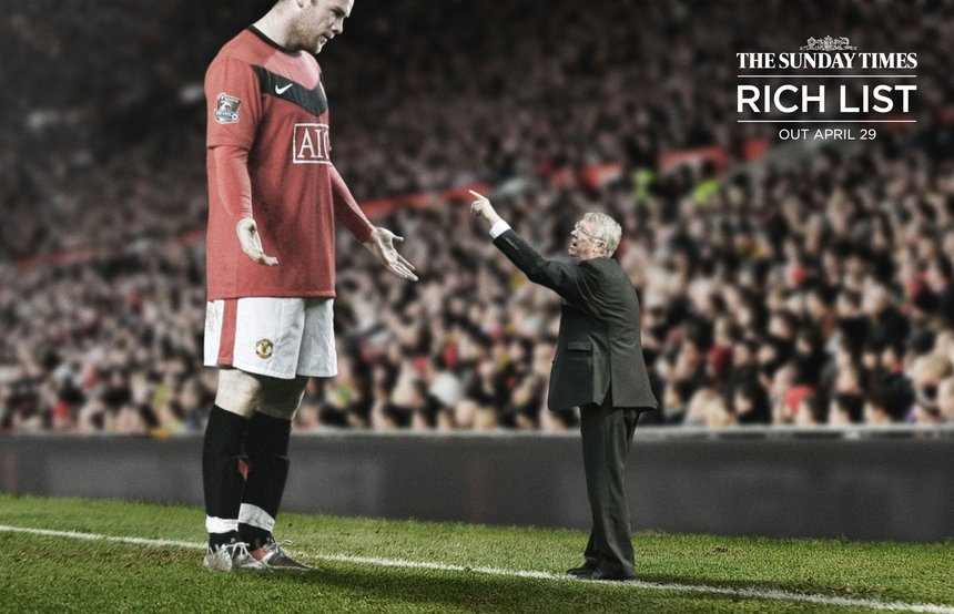 The Sunday Times Rich List Campaign - Sport