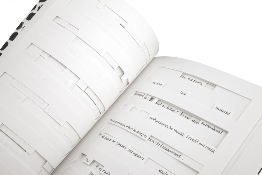 Six Examples of Novel Book Design | Tree of Codes | D&AD