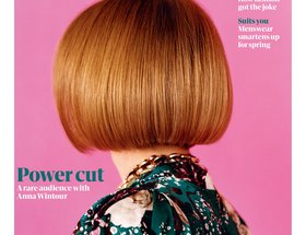 Portrait of Anna Wintour for The Guardian Fashion, Issue No.12
