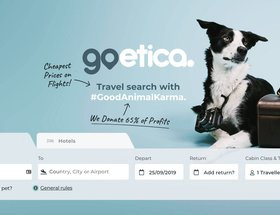Travel Search with #goodanimalkarma