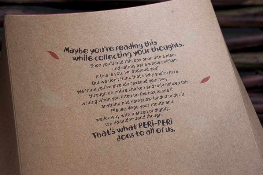 Nando's Global Packaging