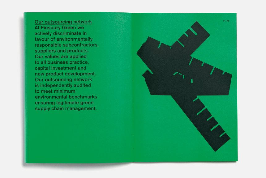 Finsbury Green Sustainability Report 2009