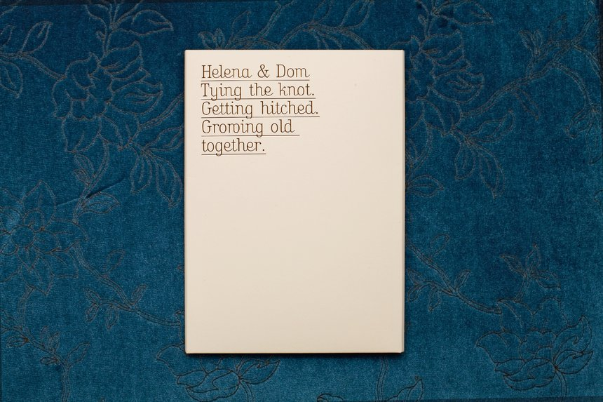 Dom and Helena Wedding Invite