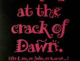 Crack Of Dawn