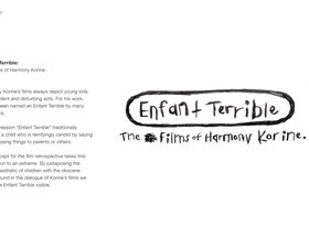 Enfant Terrible: The Films of Harmony Korine