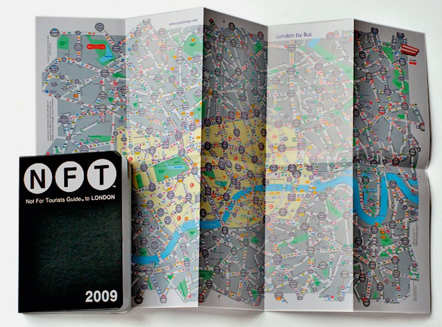 Not For Tourists Guide to London 2009