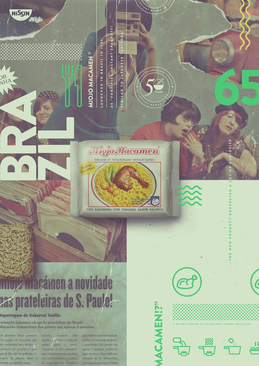 Celebrating 50 Years in Brazil (posters)