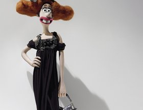 Lady Tottington in Alexander McQueen