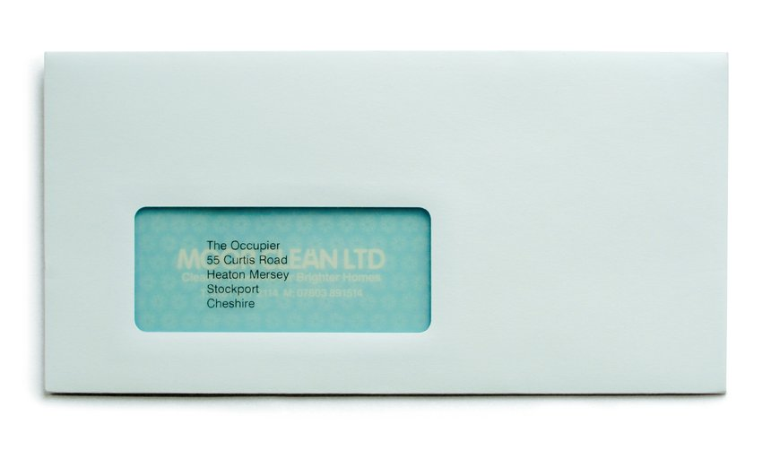 Window Envelope Mailer
