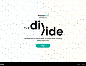 Womenwill presents The Divide and the Data Explorer