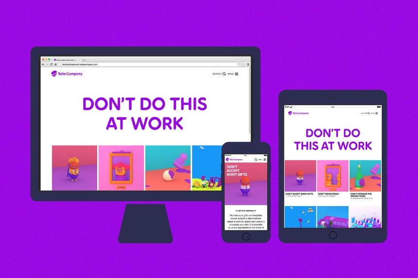Telia Company Digital Design