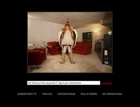 Subservient Chicken Website