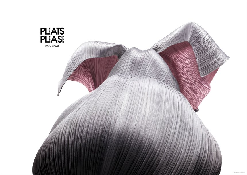 PLEATS PLEASE ISSEY MIYAKE ANIMALS Poster Series