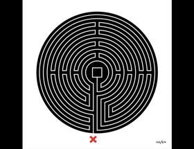 Labyrinth by Mark Wallinger