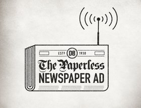 The Paperless Newspaper Ad