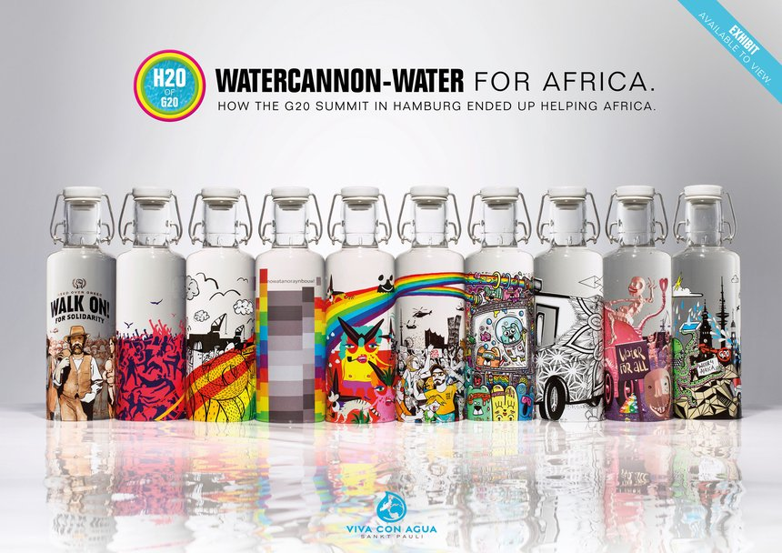 H2O of G20: Watercannon -Water for Africa