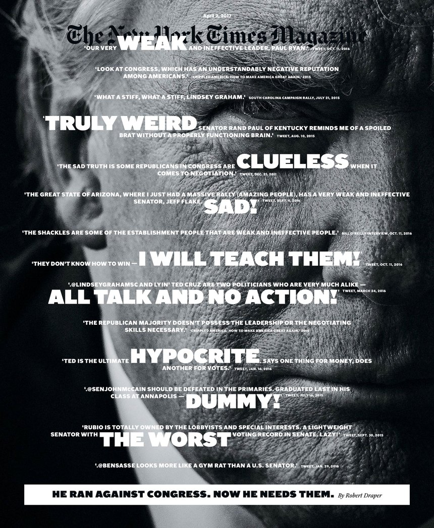 The New York Times Magazine Cover Series