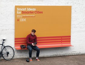 IBM Smarter Outdoor Bench