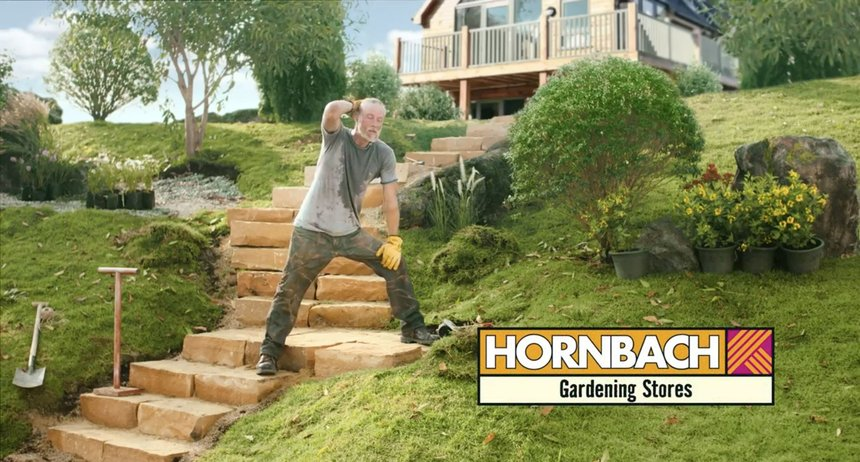 HORNBACH Sweat it out.