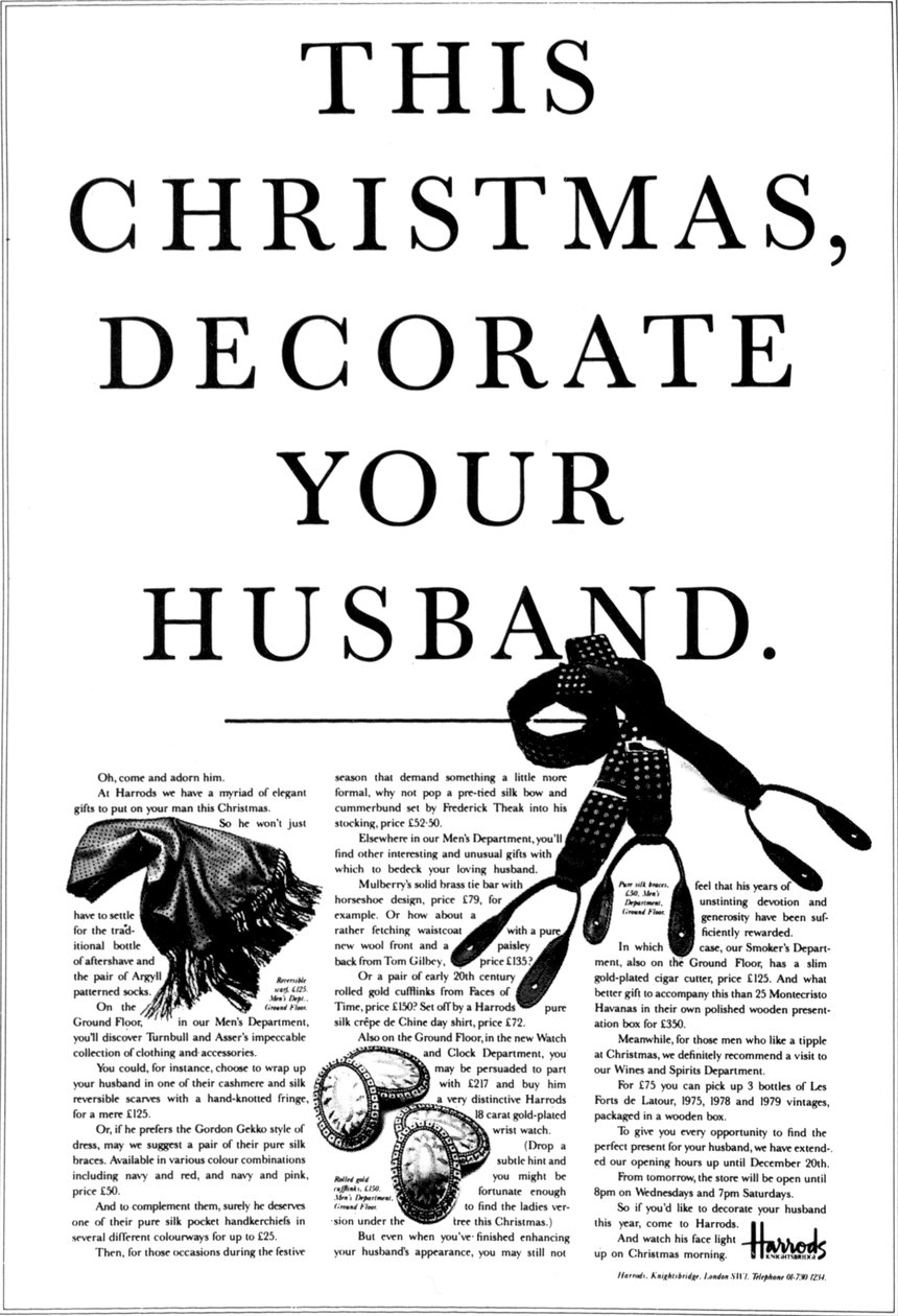 Decorate Your Husband