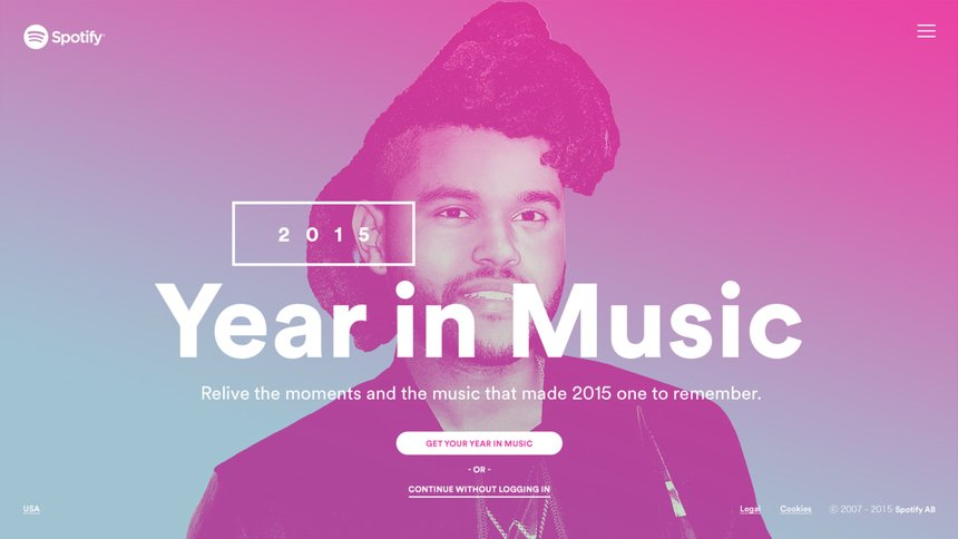 Case Study: Spotify Year in Music | D&AD Awards 2019