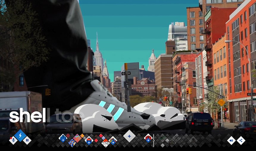 adidas Originals: Run DMC + A-Trak